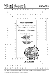 word search planet earth