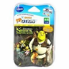 vtech smile motion shrek game brand finer