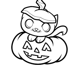 pumpkin picture to color for kids u2013 fun for halloween