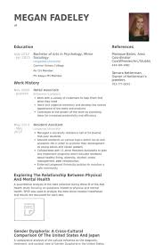 Sample Resume For Retail Associate by Retail Associate Resume Samples Visualcv Resume Samples Database