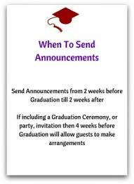 8th grade graduation cards correct graduation announcement etiquette with ease
