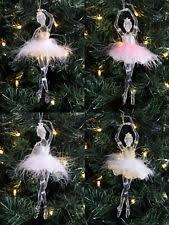 Ballerina Christmas Tree Decorations Uk by Christmas Ballerina Ebay