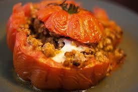 cuisiner coeur de boeuf tomates cœur de bœuf farcies au veau et mozzarella food for
