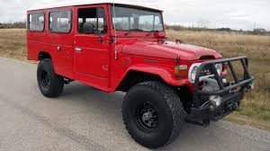 lifted ferrari 1980 toyota hj 45 land cruiser f122 houston 2016