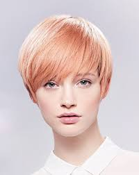 hairstyles for no chin a short blonde hairstyle from the illumina collection by wella no