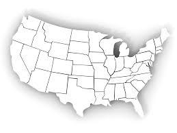 Blank Us Map With States by The Word Immagration Where Are We Located Projects To Try