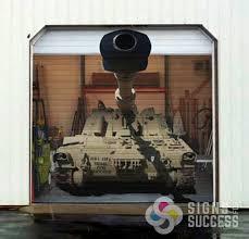garage door wraps tank signs for success