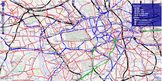 London Bus Map Public Transport Map With Openptmap Mapsys Info Mapsys Info