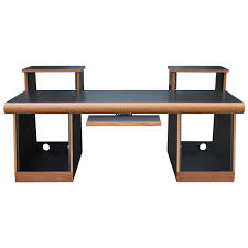 Oak Studio Desk by Sound Construction 4x2 Task Desk Oak Workstation Desks