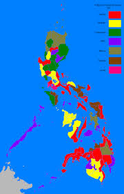 Map Of Phillipines File Philippine Election Map 1992 Png Wikipedia