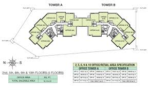 office tower floor plan centurion star
