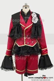 black butler kuroshitsuji ciel phantom cosplay costume black