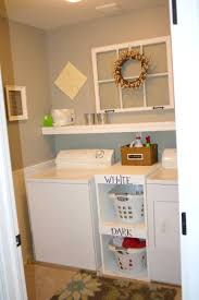 bathroom charming small laundry room ideas home stories shelving