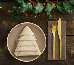 tree napkin folding tutorial hugo s supermarkets