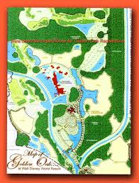 Walt Disney World Resorts Map by Golden Oak At Walt Disney World Resort Real Estate