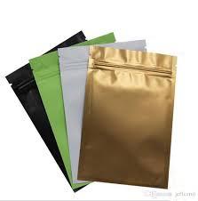 mylar wrapping paper gold green black white color metallic mylar ziplock bags flat