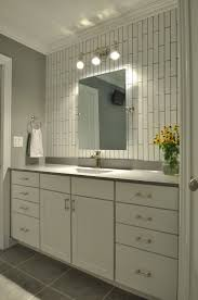 Glass Tile Bathroom by Decorating Subway Tile Patterns Subway Glass Tile Mirrored