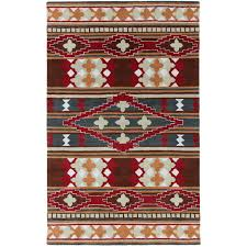 Western Throw Rugs Decorating Classic Aztec Rugs For Home Flooring Ideas