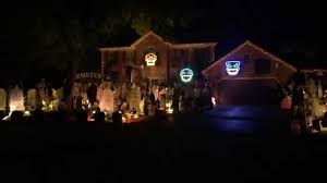 halloween light show 2014 system of a down chop suey thomas