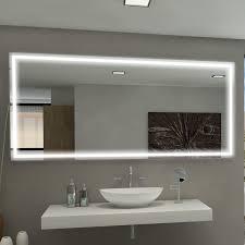 Lighted Bathroom Wall Mirrors Mirror Harmony Illuminated Bathroom Vanity Wall Mirror