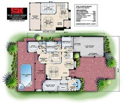 south florida designs tuscan 2 story luxury house plan south