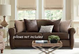 Sofa Covers For Leather Couches Ultimate Stretch Faux Leather Loveseat Cover