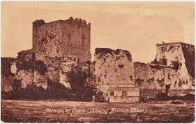 papergreat weekend postcards portchester castle and kingsgate in