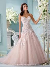 pink wedding dresses 2016 quartz blush pink wedding dresses archives weddings