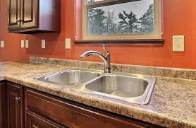 Proflo Kitchen Faucet by Fc7 Mocha Plan Kitchen Kitchen Counter Formica Butterrum Granite