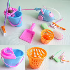 amazon com chunlin mini cleaning set doll house decoration home