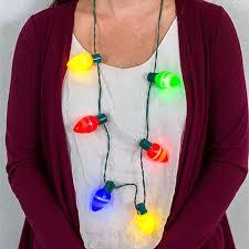 christmas light necklace bulk christmas house battery operated large 6 bulb christmas light
