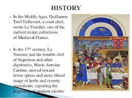 17th century cuisine cuisine