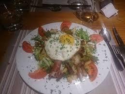 cuisine chambon salad for dinner picture of aux 500 diables auberge de montagne