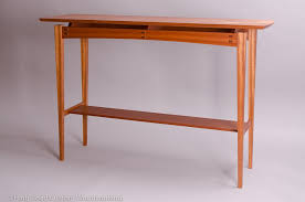 Narrow Console Table For Hallway Living Spaces Furniture - Designer hall tables