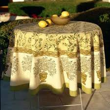 couleur nature olive tree tablecloth reviews wayfair