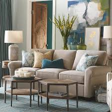 Living Spaces Sofas by Brewster Sofa Living Room Bassett Furniture