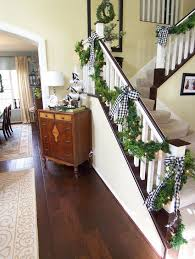 Banister Decorations Christmas Banister Decorations 19 All About Christmas