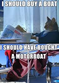 Cat Meme I Should Buy A Boat - i m starting to regret this decision i should buy a boat cat