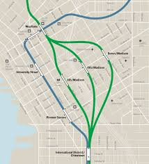 Trimet Max Map A Proposal For Madison Station
