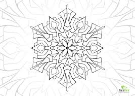 fountain mandala free coloring pages stress relief