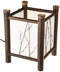 Amazoncom Oriental Furniture Watashi Japanese Table Lamp Dark - Kitchen table lamp