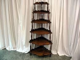 Etagere Antique Vintage Conor Shevels Nice Mahogany Antique 6 Shelf Corner