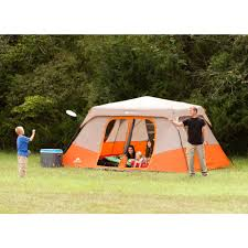 Tent Cabin by Ozark Trail Instant 13 U0027 X 9 U0027 Cabin Camping Tent Sleeps 8