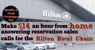 Design Works At Home Hilton Is Hiring 5 000 Work At Home Reservation Associates For 14