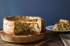 dish pot pie where all chicken and thanksgiving turkey
