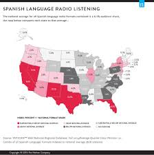 Listening Map Mapping Radio U0027s Reach With Black And Hispanic Consumers