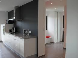 cuisine mur noir wonderful cuisine blanche mur gris 1 blanc et gris argentmur noir