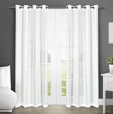 White Darkening Curtains Curtain White Grommet Blackout Curtains Curtain Target Eclipse