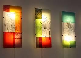 strikingly inpiration illuminated wall with decor ideas lighting