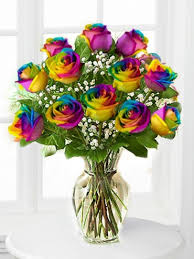 multi colored roses rainbow roses multi colors dyed in ny flowers by emil